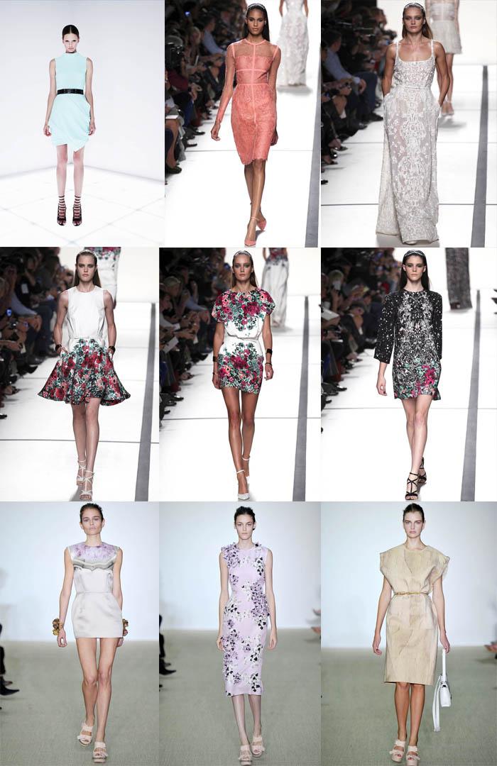 Модные платья повседневные весна - лето 2014, фото
