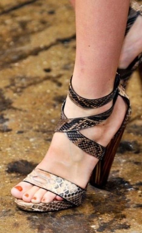 Модная обувь весны - лета 2014, фото