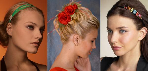 Модные женские аксессуары для волос, повязки