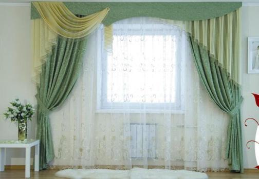 Как сшить красивые шторы своими руками с