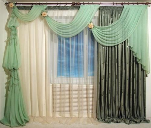 Как сшить шторы и ламбрекены своими руками