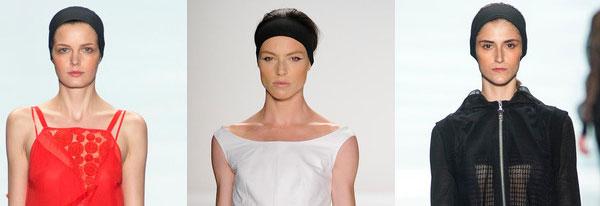 Модные головные уборы весна  - лето 2014, фото