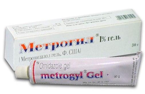 метрогил помогает от прыщей