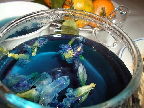 Синий чай: сорта, свойства, приготовление