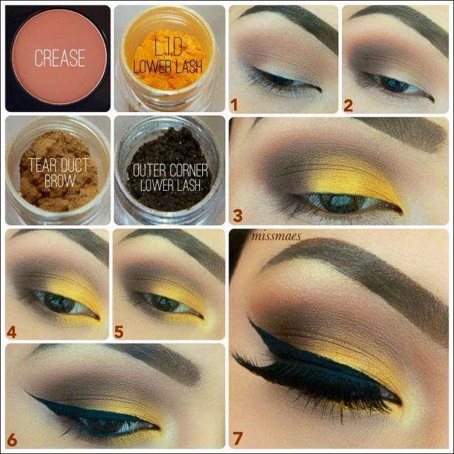 Sexy eye makeup tips