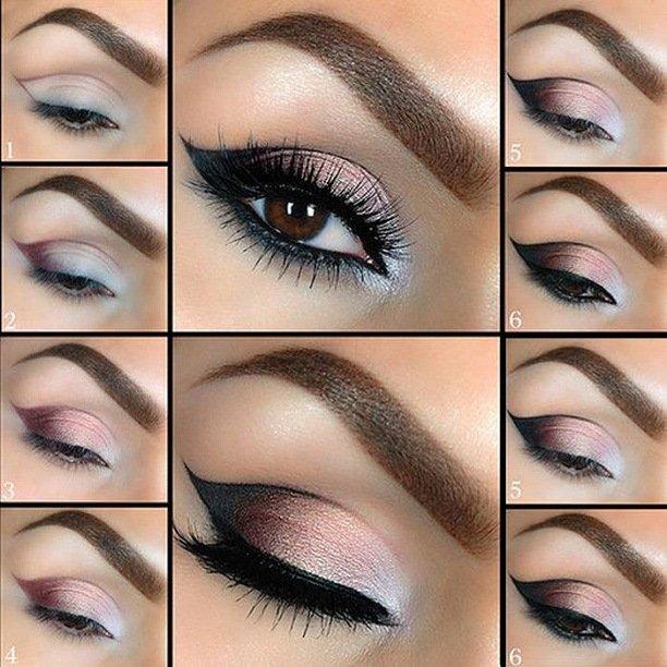 Bridal Eye Makeup 2017 Step By Step : ?????? ?? ????? ??? 2017 ?????? ??????, ???? ?????? ...