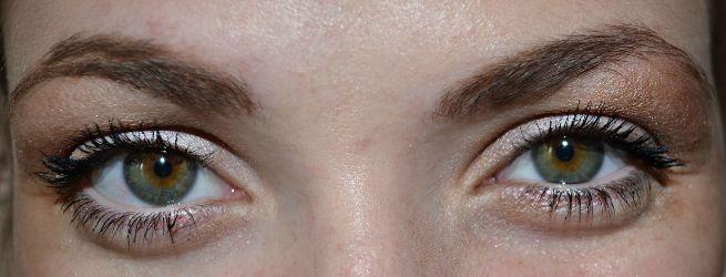 естественный макияж для зеленых глаз, фото