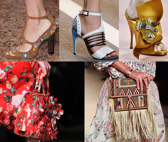 Модные аксессуары весны - лета 2015, фото