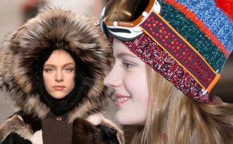 модные головные уборы осени - зимы 2015