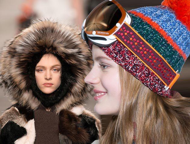 Модные шапки, шляпы, береты и кепки осенью 2014 и зимой 2015