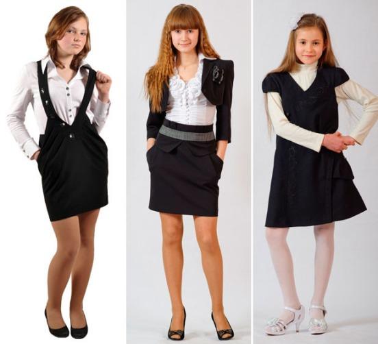 красивая школьная форма для старшеклассниц фото