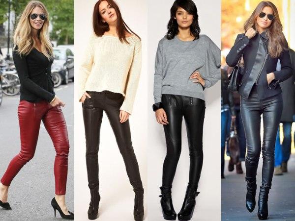 Сексуальные красотки в кожаных брюках фото 723-832