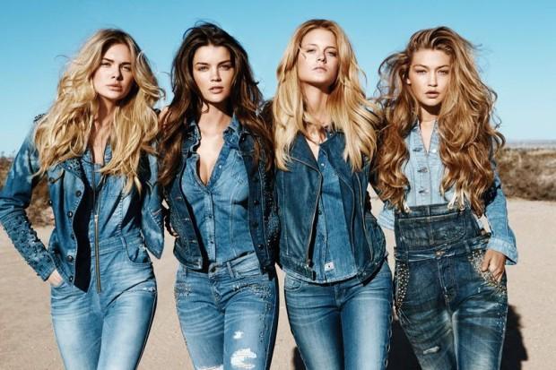 С чем носить джинсовую рубашку, фото