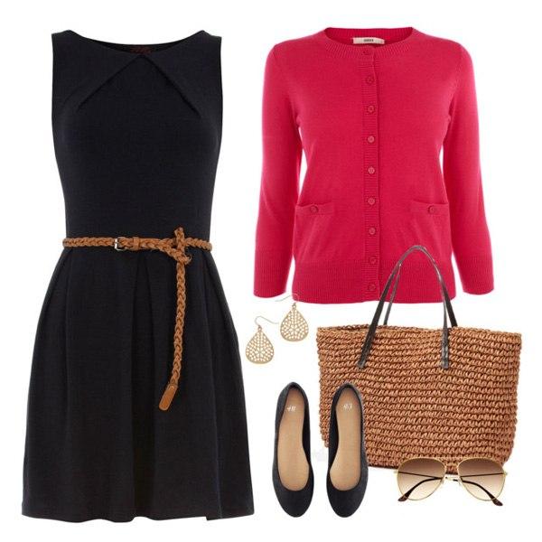 Комплекты с черным платьем