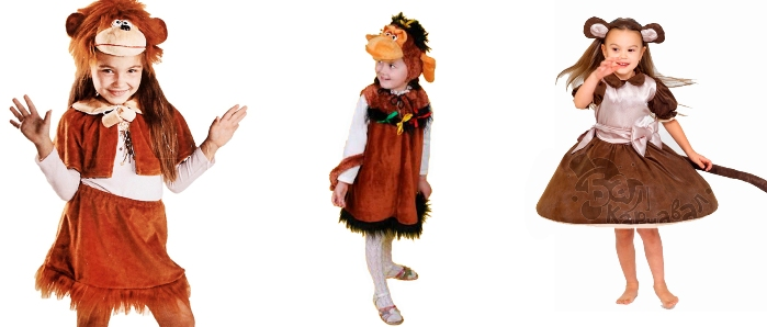 Костюм обезьянки для девочки своими руками фото