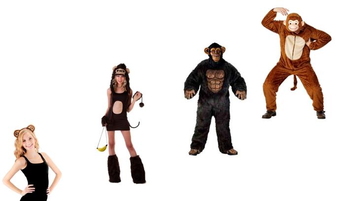 костюм обезьяны на новый год для взрослых, фото