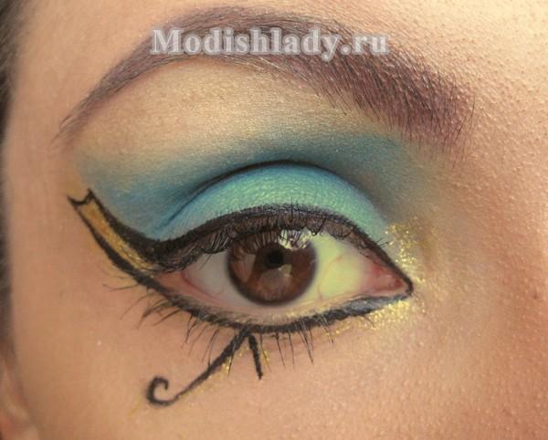 макияж клеопатры, фото