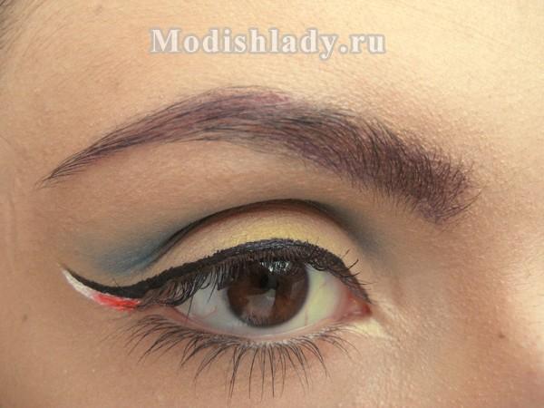 макияж со стрелками, фото