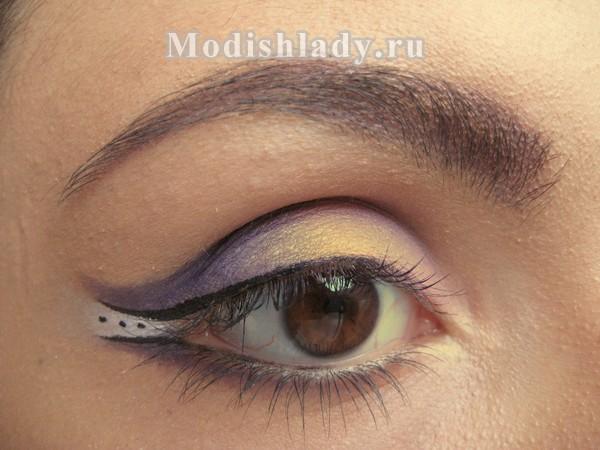макияж глаз уголок, фото
