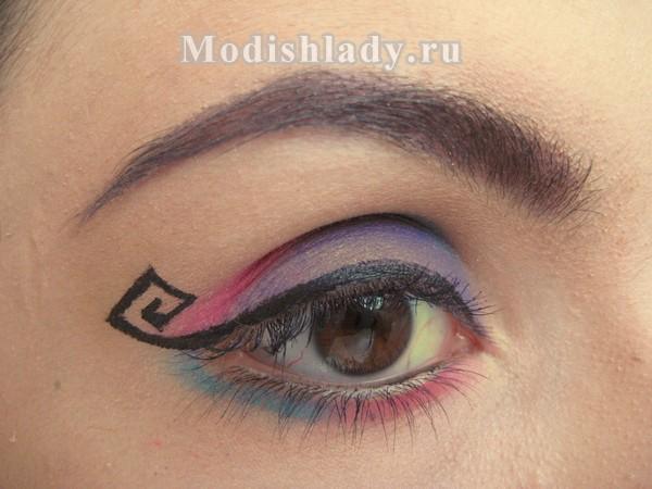 макияж со стрелками фото