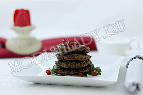 оладьи из печени, фото