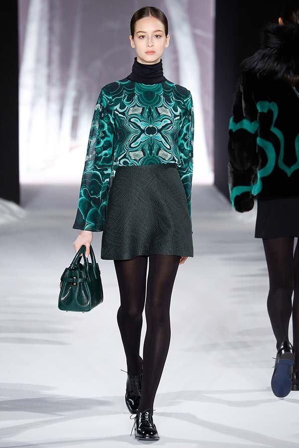 модные короткие юбки осень-зима 2016-2017, фото