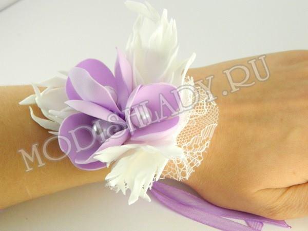 Как сделать своими руками повязку на руку подружкам невесты своими руками