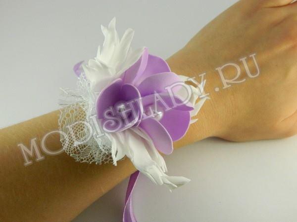 бутоньерка для подружек невесты, фото