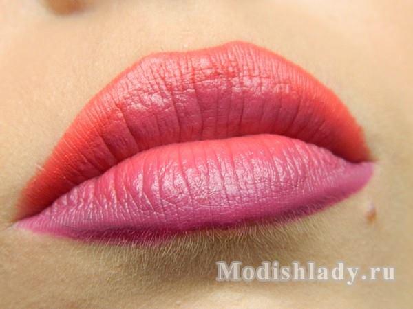макияж губ 3d, фото