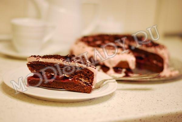 торт черный лес, фото