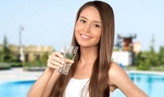 не забывайте пить воду в течении дня