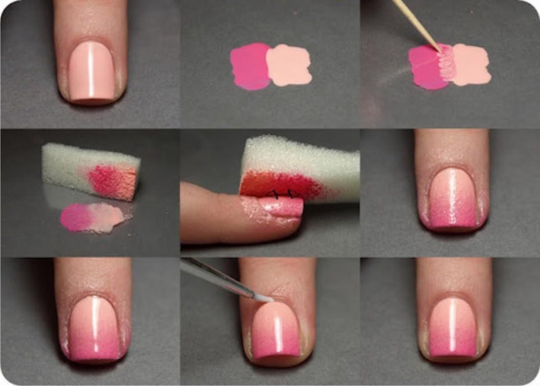 как покрасить ободок для волос лаком для ногтей