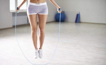 прыжки со скакалкой помогут похудеть