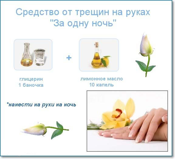 Причина трещин на пальцах рук возле ногтей