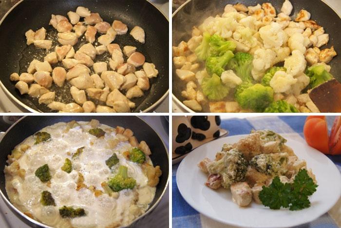 как приготовить цветную капусту вкусно на сковороде в кляре с яйцом