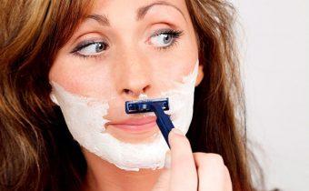 Удаление волос на лице народные способы