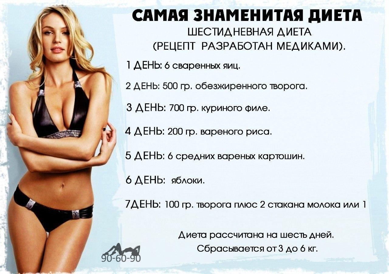 Супер-диета, худеем вкусно — минус 7 кг за неделю! | диета | dietas.